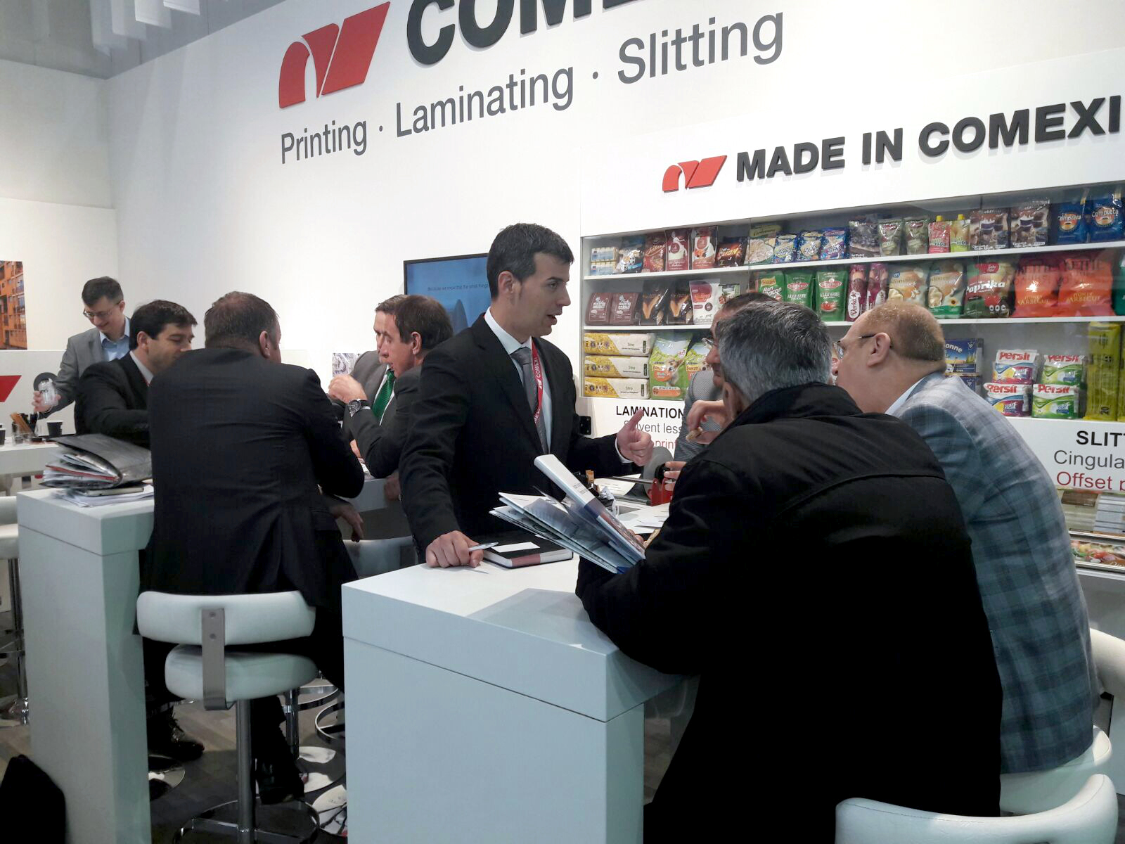 Successful Interpack for Comexi