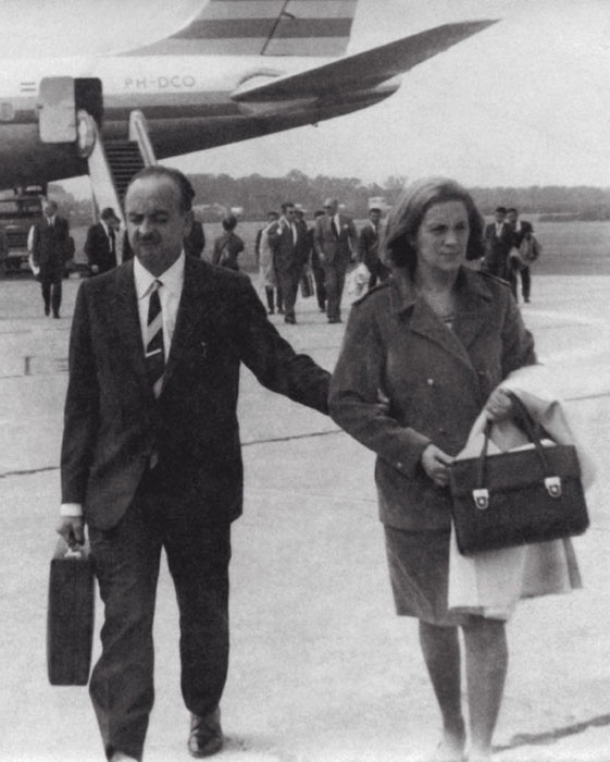 Manel Xifra Boada, Founder of Comexi, and his wife, Mrs. Loreto Pagès, Co-founder (1967).