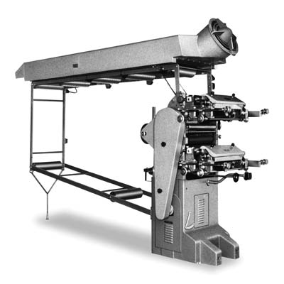 1956. First flexographic press, CF 2/60.