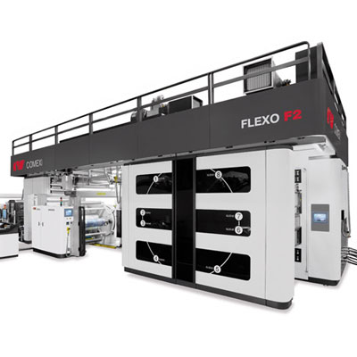 2012. Presentation of the new range of F2 flexographic presses.