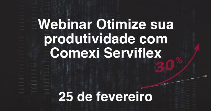 Increase your productivity with Comexi Serviflex Webinar