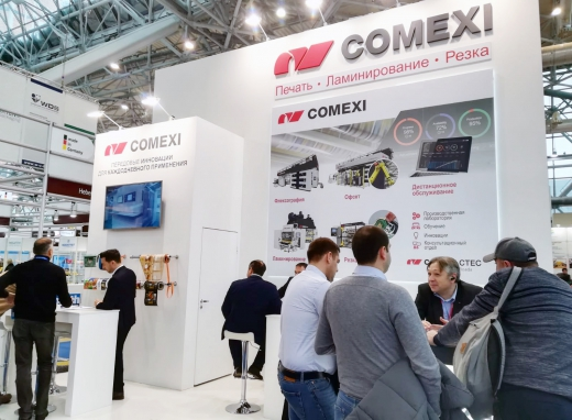 Comexi promotes new collaborations in Upakovka trade fair