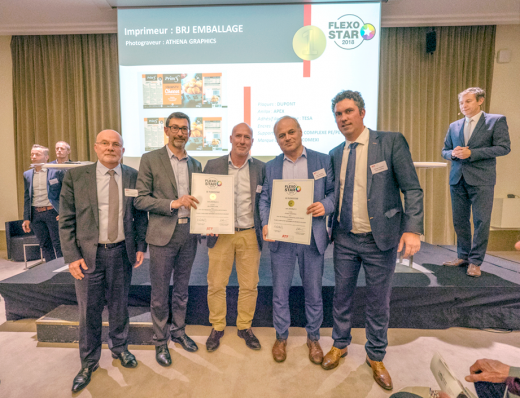 Five FlexoStars awards from the ATF Flexo proves the flexographic quality printing of Comexi