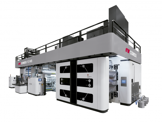 Comexi is Committed to Sustainable Printing with the Use of Water-Based and Curable Inks