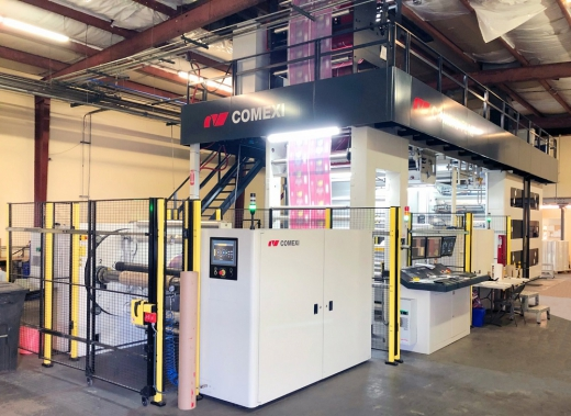 Comexi expands its presence in the USA with the sale of an F2 MP to New Wave Converting