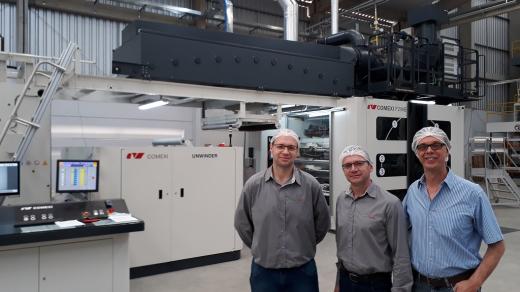 Pamplastic acquires a Comexi F2 MB flexographic press