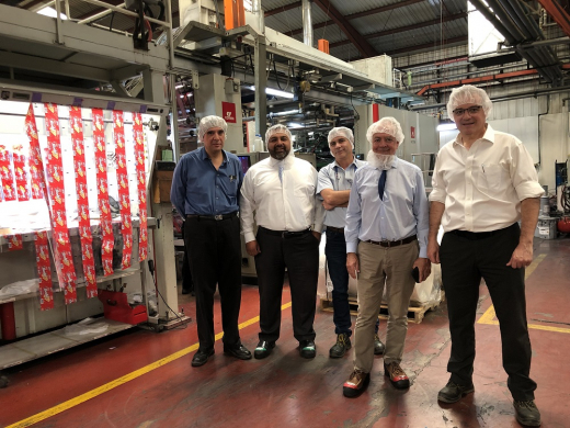 Polytec Renews Its Confidence in Comexi with the Acquisition of a Flexographic Press