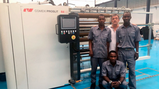 Socipack Acquires a Comexi Wide-Web Slitter-Rewinder
